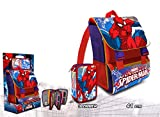 Spiderman–Zaino italiana con astuccio triplo, Kids Euroswan sp17671