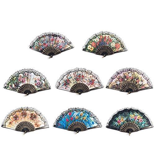 Tanz Kostüm Muster Zum Verkauf - Noblik 8 Stücke Spanische Blume Falten
