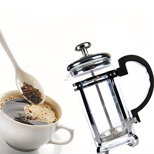 350ml French Coffee Pot Press Coffee Pot Percolator Stainless Steel Manual Coffee Tea Pot 51zSJKZK49L