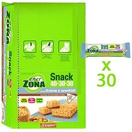 enerZONA bar Snack avena e arachidi box da 30