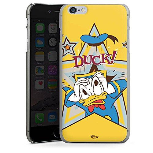 Apple iPhone X Silikon Hülle Case Schutzhülle Disney Donald Duck Fanartikel Geschenk Hard Case anthrazit-klar