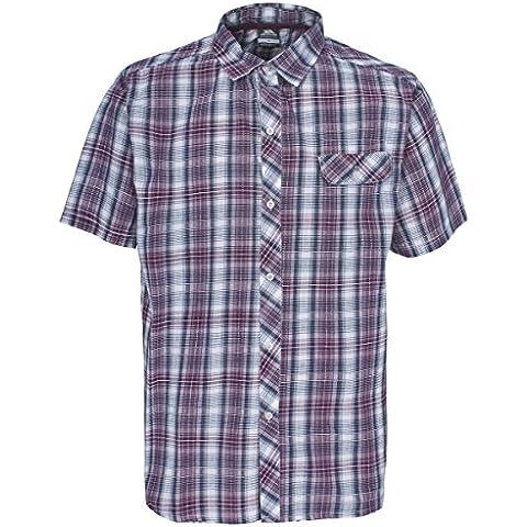 Trespass Zamia - Camiseta, color borgoña, talla L