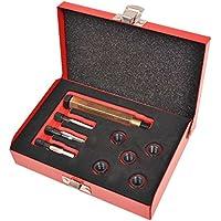 vidaXL Kit de Reparación de Rosca Bujía Incandescente 9 Piezas M10,0x1,25 mm
