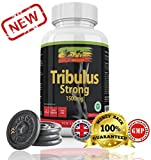 Tribulus Terrestris Strong by Rasta-Viti - 1500mg High Potency Capsules with Max 95% Saponins - Superior Supplements for Men & Women - Proudly made in the UK with 100% Money Back Guarantee! from Private Label Nutrition