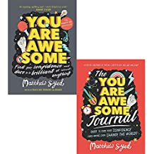Matthew syed you are awesome and journal 2 books collection set