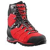 Haix Protector Ultra Schnittschutzstiefel Klasse 2 603108, Farbe:rot/schwarz;Schuhgröße:43.5 (UK 9)