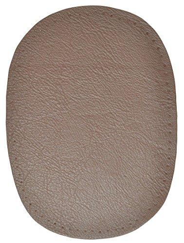 alles-meine.de GmbH 1 STK. Nappa - echtes Leder Flicken - dunkel braun - 10 cm * 13 cm - oval -...