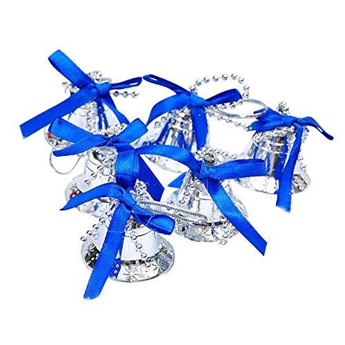 s Tree Hanging Bells Jingle Pendant Party Decoration Ornaments Xmas 3,5 cm Gold-Mini-Glocke ()