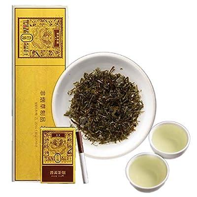 Yunling Shangpin Tea King puerh Cigarettes de thé sans tabac ni thé vert à la nicotine, thé cru, vieux arbres Pu erh Tea Poids net 30g / sac