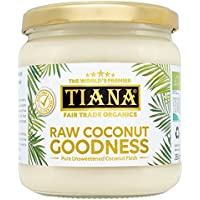 TIANA coco orgánico sin procesar 350g Bondad