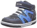 Geox B FLICK BOY C, Baby Jungen Lauflernschuhe, Blau (C4366DK NAVY/LT BLUE), 21 EU