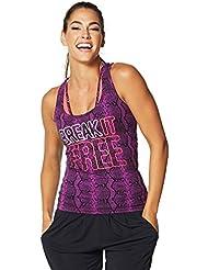 Zumba Fitness Break It Free Haut racerback Femme