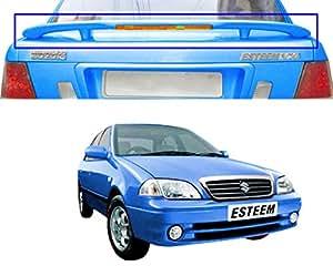Auto Pearl - Premium Quality OE Type Car Spoiler For - Maruti Suzuki Esteem (Metallic Icy Blue)