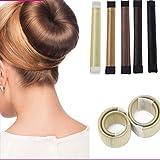 ROPALIA Damen Fashion Haarstyling Tool Donut Hair Bun Maker Perfekt f¨¹r lange Haare