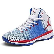 FHTD Zapatillas de baloncesto nuevas para hombre y para mujer Zapatillas deportivas de gran tamaño para