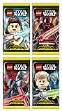 Top Media 180224 Lego Star Wars Sammelkarten, Display mit 50 Boostern, Mehrfarbig