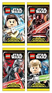 Top Media 180224 Lego Star Wars Cartas coleccionables, Pantalla con 50 Paquetes