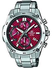 Casio Edifice Herrenuhr Analog Quarz mit Edelstahlarmband – EFR-557D-4AVUEF