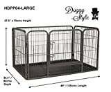 Doggy Style Heavy Duty Whelping With Abs Tray Puppy Play Pen, Large