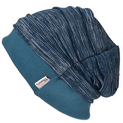 Casualbox Mens Slouch Beanie Hat Light Weight Cooling Dye Effect