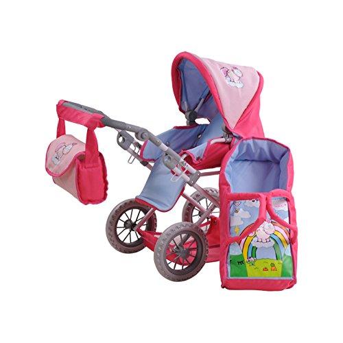 Puppen & Zubehör Babypuppen & Zubehör Vorsichtig Kinderpuppenwagen....neu.....ein Muss Für Die Kleinen ..kinderpuppenbuggy...rosa Dauerhaft Im Einsatz
