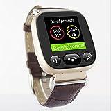 CITW Smartwatches Für Ältere Eltern Bluetooth-Telefonuhren Entsperrt Sim-Karte mit GPS-Tracker Herzfrequenz-Blutdruck-Schlaf-Monitore mit Android/iPhone Bestes Geschenk Für Den Vatertag