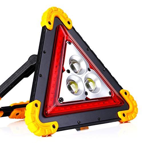 ALFLASH 1000Lumen Faretto da lavoro a LED Ricaricabile Impermeabile Faretto a LED impermeabile Luci di inondazione Lanterna da campeggio per riparazioni auto d'emergenza all'aperto