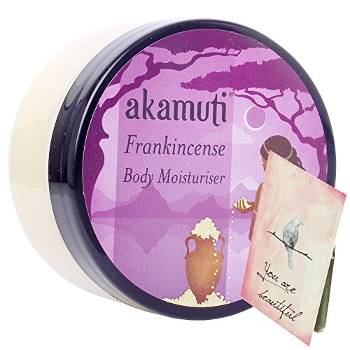 Akamuti - Crema Corpo Idratante Biologica all'Incenso per Pelli Spente Secche Mature 100 ml