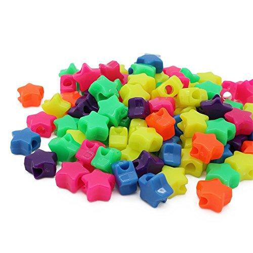 Kunststoff Star Pony, Lime grün, 13mm P, Plastik, Mix, 13 mm ()