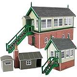 Metcalfe - Casa de decoración para modelismo ferroviario, escala N (PN133)