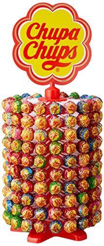 (Chupa Chups 180er Lutscherrad plus 20 Lollis gratis | Lollipop-Ständer mit 7 leckeren Geschmacksrichtungen)