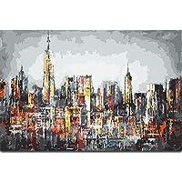 Artshdow Manhattan Skyline Paint By Number 40X50Cm Kit