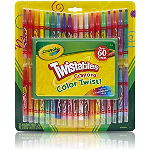Crayola Twistable Crayons & Paper Toy (60 Piece) by Binney & Smith