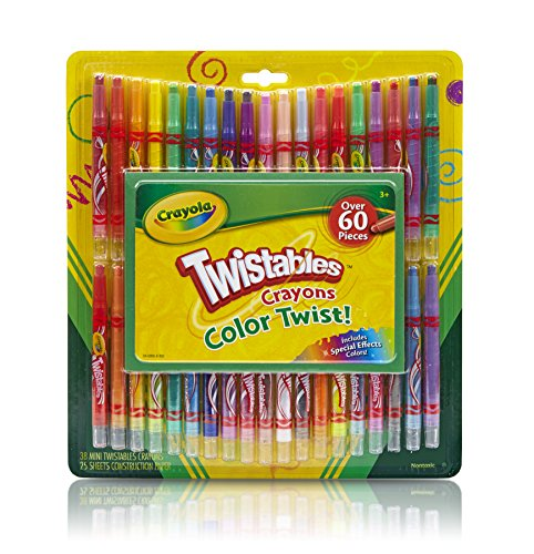 Crayola Twistable Crayons & Paper Toy (60 Piece) by Crayola