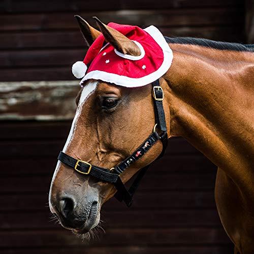 Derby House Santa Hat briglie di