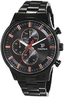 Reloj de pulsera para hombre-reloj analógico de cuarzo de acero inoxidable Fashion TPGA-90970-21M