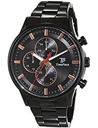 Time Piece Herren-Armbanduhr Fashion Analog Quarz Edelstahl TPGA-90970-21M