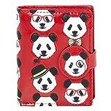 Shagwear - Monederos para mujeres jóvenes: Varios colores y diseños: (Panda)