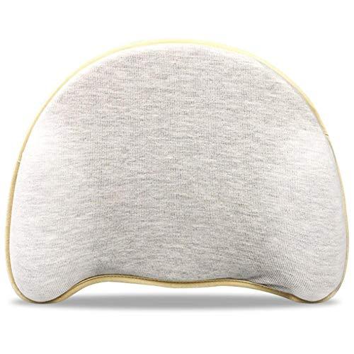 Campinery Cuscino piatto Cuscino modellante per la testa del bambino, Cuscino per dormire in memory foam per sindrome della testa piatta per neonati e neonati Prevenzione e supporto per la lovable