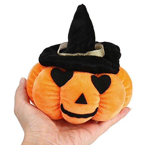EARS Halloween Kürbis Kissen Puppe Plüsch Spielzeug Teufel Puppe (Halloween Teufel Benutzerdefinierte)