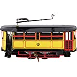 Generic Vintage Tram Trolley Streetcar Tin Toy Collectible Gift w/ Wind-Up Key