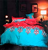 Shahi Concept Allure Series Cotton Reversible AC Comforter and Bedsheet Set for Double