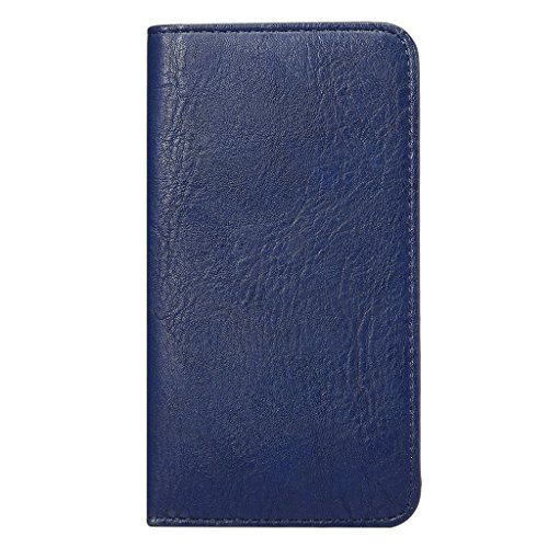 """DFV mobile - Vertical Cover Premium PU Leather Case with Wallet & Card Slots for =>      APPLE iPhone 6s / [4,7""""] > BLUE BLUE"""