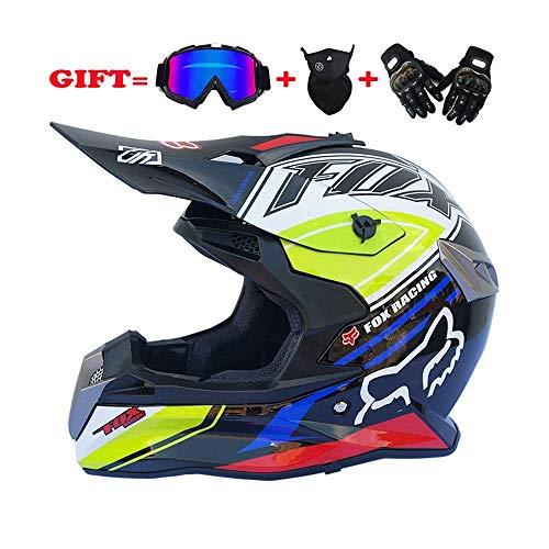 XBECO Dual Sport Off Road Motorrad Motocross Helm -