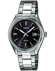 Casio  LTP-1302PD-1A1VEF - Reloj de cuarzo para mujer, con correa de acero inoxidable, color plateado