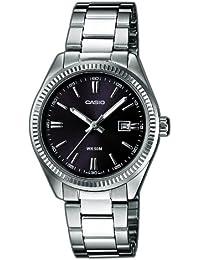 Casio Collection – Reloj Mujer Analógico con Correa de Acero Inoxidable – LTP-1302PD-1A1VEF