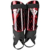 adidas X Reflex Shin Guards, Active red/Black/Off White, XS