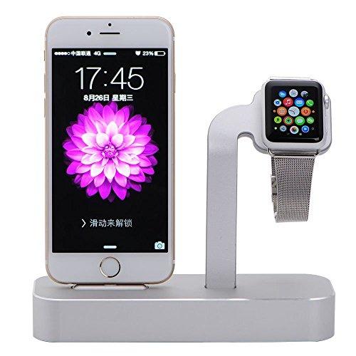 NIUTOP Apple Watch Stand, 2 in 1 Premium Aluminium Ladestation