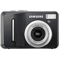 Samsung S1060 Digitalkamera (10,2 Megapixel, 5-fach opt. Zoom, 6,9 cm (2,7 Zoll) Display) schwarz