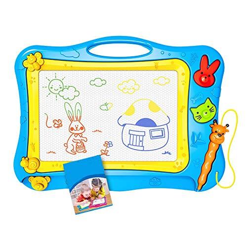 Zeichentafel, Magnetisches großes Schreibbrett für Kinder, Abwischbar Farbenfroh Manga Doodle Spielzeug Schreiben Zeichen Pad